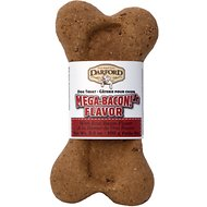 Darford Mega Bacon Flavor Junior Bone Dog Treat, 24 count