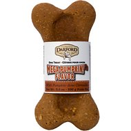 Darford Mega Pumpkin Junior Bone Dog Treat, 24 count