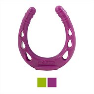 Kurgo Huck-It Horseshoe Dog Toy, Just Violet