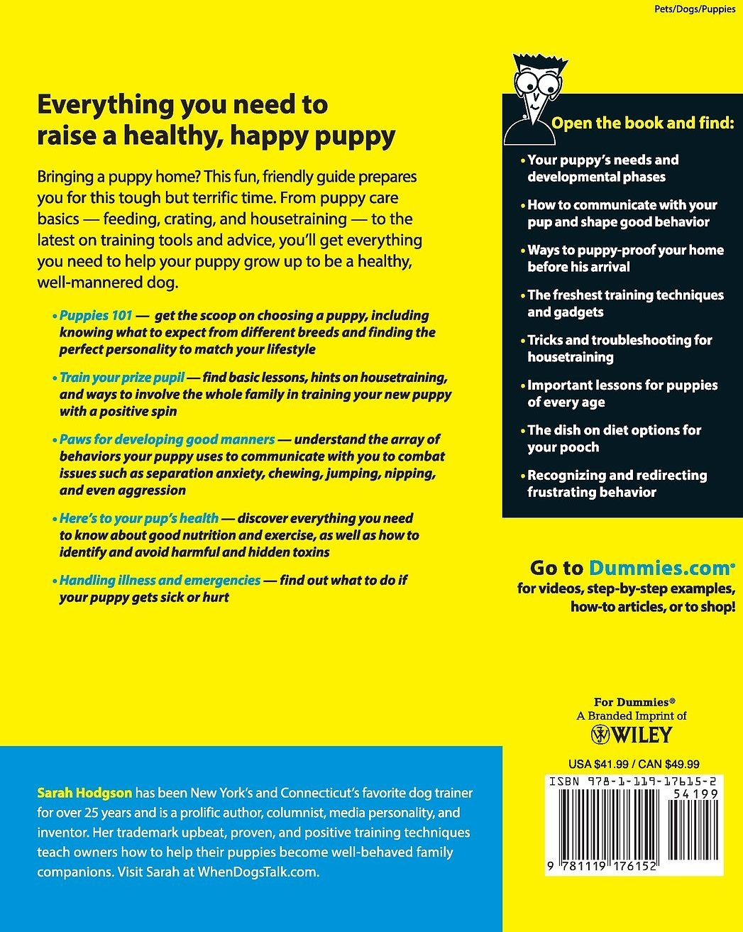 puppies for dummies 3rd edition pdf