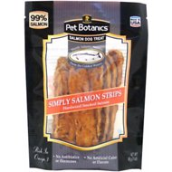 Pet Botanics Simply Salmon Strips Dog Treats, 3-oz bag