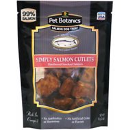 Pet Botanics Simply Salmon Cutlets Dog Treats, 3-oz bag