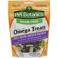 Pet Botanics Healthy Omega Treats 5 Layer Grain Free Ostrich Flavor Dog Treats, 5-oz bag