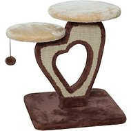 IRIS 21-Inch 2-Tier Deluxe Cat Tree