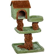IRIS 41-Inch 3-Tier Cat Tree, Green