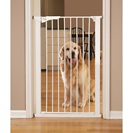 KidCo Command Pet Products Tall Gateway Pressure-Mounted Pet Gate, White