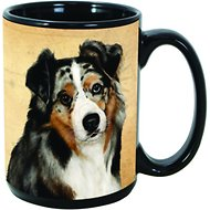 Pet Gifts USA My Faithful Friend Dog Breed Coffee Mug, Australian Shepherd, 15-oz