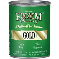Fromm Gold Lamb Pate Canned Dog Food, 12.2-oz, case of 12