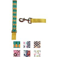 Paws N Claws Couture Dog Leash, Teal Pineapple