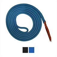 Knotty Girlz Yacht Rope Horse Lead, Blue, 12ft