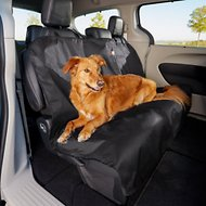 Animal Planet Water Resistant Bench Style Car Seat Cover, Black