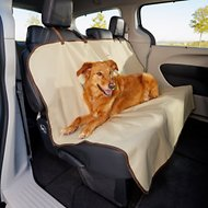 Animal Planet Water Resistant Bench Style Car Seat Cover, Beige