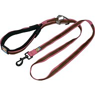 Kurgo Quantum 6-in-1 Dog Leash, Honeysuckle Pink