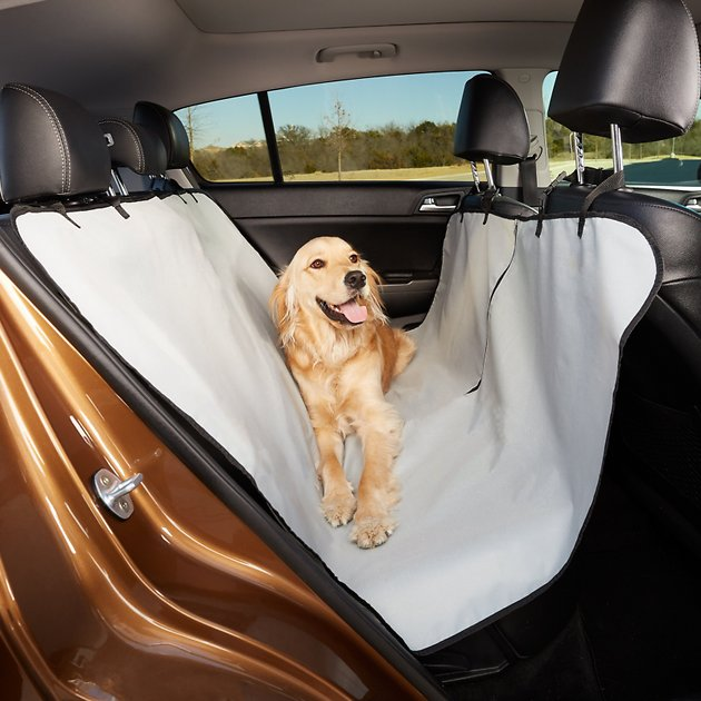 Grey Car: Animal Planet Water Resistant Hammock Style Car Seat Cover