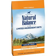 Natural Balance L.I.D. Limited Ingredient Diets High-Protein Turkey Formula Grain-Free Dry Dog Food, 12-lb bag
