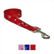 Sassy Dog Wear Bandana Dog Leash, Medium, Red