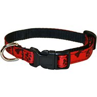 Sassy Dog Wear Paws & Bones Dog Collar, X-Small