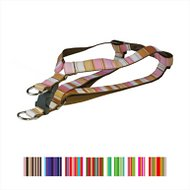 Sassy Dog Wear Multi Stripe Dog Harness, Medium, Brown