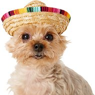 Rubie's Costume Company Multi-Colored Dog & Cat Sombrero, Small/Medium