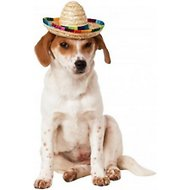Rubie's Costume Company Multi-Colored Dog & Cat Sombrero, Medium/Large