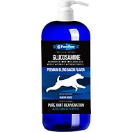 Pure Paw Nutrition Premium Dream Glucosamine Dog Liquid Supplement, Bacon Flavor, 32-oz
