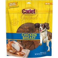 Cadet Gourmet Chicken Breast Dog Treats, 28-oz bag