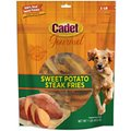 Cadet Gourmet Sweet Potato Steak Fries Dog Treat, 1-lb bag