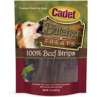 Cadet Butcher Beef Dog Treats, 8-oz bag
