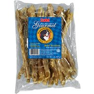 Cadet Gourmet Beef Tendon Dog Treats, 1-lb bag