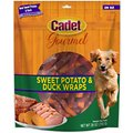 Cadet Gourmet Sweet Potato & Duck Wrap Dog Treats, 28-oz bag