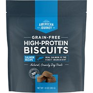 American Journey Salmon Recipe Grain-Free High Protein Biscuits, 10-oz bag