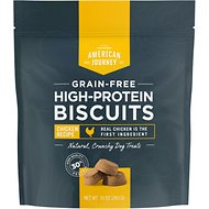 American Journey Chicken Recipe Grain-Free High Protein Biscuits, 10-oz bag