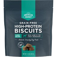 American Journey Lamb Recipe Grain-Free High Protein Biscuits, 10-oz bag