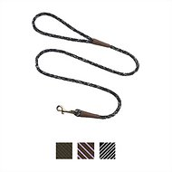 Mendota Products Small Snap Camouflage Print Dog Leash, Salt & Pepper, 4-ft