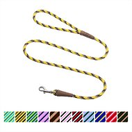Mendota Products Small Snap Striped Dog Leash, Harvest, 6-ft