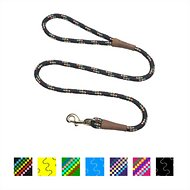 Mendota Products Large Snap Confetti Print Dog Leash, Black Confetti, 4-ft