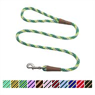 Mendota Products Large Snap Striped Dog Leash, Ivy, 4-ft
