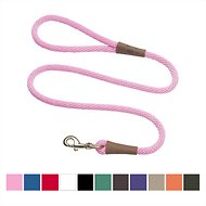 Mendota Products Large Snap Solid Dog Leash, Hot Pink, 6-ft