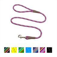 Mendota Products Large Snap Confetti Print Dog Leash, Raspberry Confetti, 6-ft