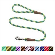 Mendota Products Large Snap Striped Dog Leash, 6-feet, Ivy