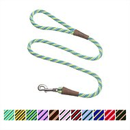 Mendota Products Large Snap Striped Dog Leash, Seafoam, 6-ft