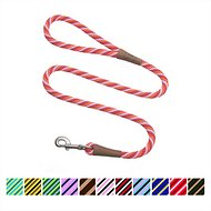 Mendota Products Large Snap Striped Dog Leash, Taffy, 6-ft
