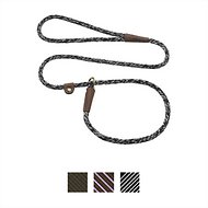 Mendota Products Small Slip Camouflage Print Dog Lead, Salt & Pepper, 4-ft