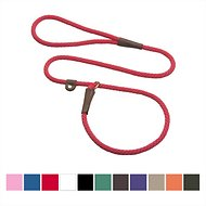 Mendota Products Small Slip Solid Dog Lead, 6-feet, Red