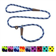 Mendota Products Small Slip Checkered Dog Lead, Sapphire, 6-ft