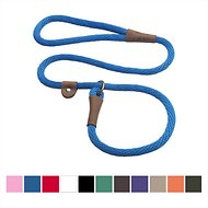 Mendota Products Large Slip Solid Dog Lead, Blue, 6-ft