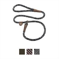 Mendota Products Large Slip Camouflage Print Dog Lead, Salt & Pepper, 6-ft