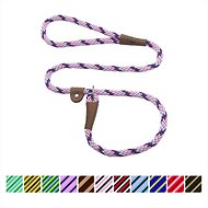 Mendota Products Large Slip Striped Dog Lead, Lilac, 6-ft