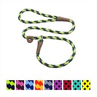 Mendota Products Large Slip Checkered Dog Lead, Jade, 6-ft
