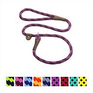 Mendota Products Large Slip Checkered Dog Lead, Ruby, 6-ft